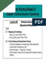 Sistem Komunikasi digital (siskom 2)