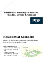 Residential Building's Setbacks, Facades, Entries_Urban Design