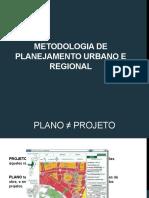 Metodologia de Planejamento Urbano e Regional