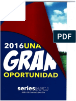 Serie 46 2016 Una Gran oportunidad