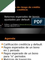 SRC Retornos de Bonos Ajustados Por Default