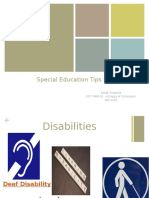 alsubaie n special education tips presentation