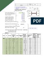 Anchor Bolt Design per IS LSM