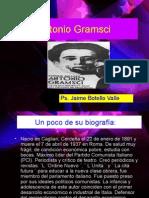 Antonio Gramsci. Ps. Jaime Botello Valle