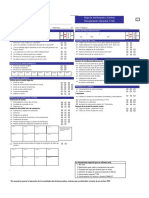 Checklist 50 Puntos del vehiculo
