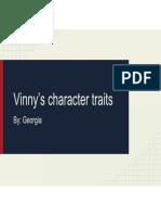vinnys character traits pa