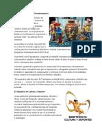 Actividades Culturales de Centroamerica