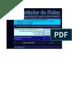 Calculador de Notas UNED