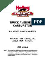 Holly Truck Avenger Man