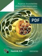 Catalogo Tubos Aceros Inoxidables y Aleaciones Especiales 2012 - Hastinik