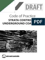 Strata Control in Underground Coal Mines