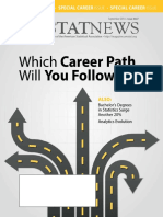 Career Guide for statistics