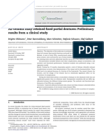 All-ceramic Inlay-retained Fixed Partial Dentures Preliminary Results From a Clinical Study