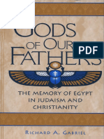 (Contributions to the Study of Religion 67) Richard a. Gabriel-Gods of Our Fathers_ the Memory of Egypt in Judaism and Christianity (Contributions to the Study of Religion)-Praeger (2001)