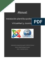 Plantilla quickstart Joomla con VirtueMart