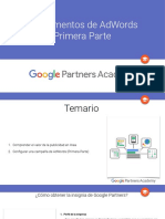 1. Fundamentos de Adwords Primera Parte