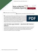 Los Torneos Que Vienen – Ascenso Del Interior Edition _ La Redó!