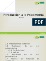 Introduccion a La Psicometria