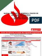 Instructivo de Envio de Nomina Por Clavenet Empresarial Nva. 2