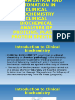 Introduction to Clinical biochemistry - Slides