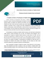 Alho Em Rede e Fiscalização - Carolina Almeida - 2015
