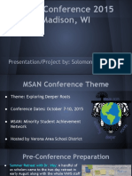 msan conference 2015