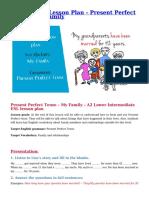 A2 ESL EFL Lesson Plan