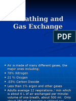 breathing and gas exchange  powerpoint