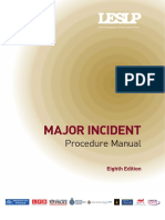 Major Incident Procedure Manual