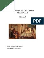 Tema 3 La Desintegración Del Imperio Romano