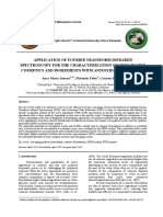Application of Ftir for the Characterisation of Sustainable Cosmetics and Ingredients With Antioxidant Potential