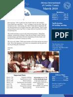 Mar Newsletter