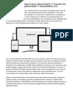 Lugo Ideas Novedades Costos Oferta Diseño Y Creación De Páginas Web Autogestionables Y Autoeditables Con