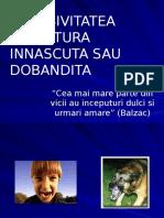 AGRESIVITATEA TRASATURA INNASCUTA SAU DOBANDITA.pptx