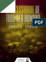 eBook 032 Charles Haddon Spurgeon a Necessidade de Todo Ser Humano