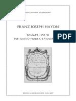 Haydn Trio I Score