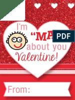Mad Libs Valentine
