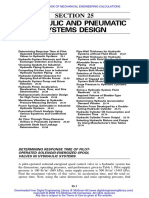 Hydraulic and Pnemumatic Systems Design