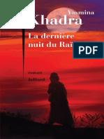 Yasmina Khadra - La Dernière Nuit Du Raïs