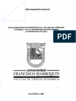 Analisis Del Sufragio Universal