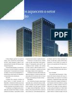 Revista - Lançamentos aquecem setor de alto padrão