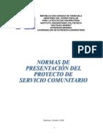 Manual Servicio Comunitario - Completo