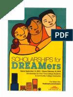 Dream Scholarship Application