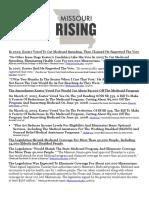 Chris Koster Completes Flip-Flop On Medicaid Expansion