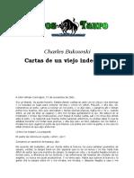 Bukowski, Charles - Cartas de Un Viejo Indecente