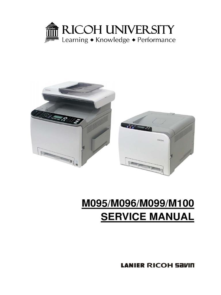 Service Manual Ricoh Aficio SPC240DN_242SF   Manufactured Goods   Technology