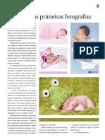 Revista - Matéria sobre Fotografia Newborn