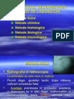 Diagnosticul Gestatiei-met. de Lab.