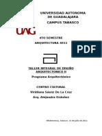 Programa Centro Cultural
