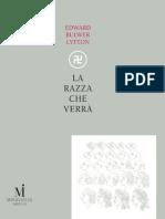 La Razza Che Verra - Edward Bulwer-Lytton